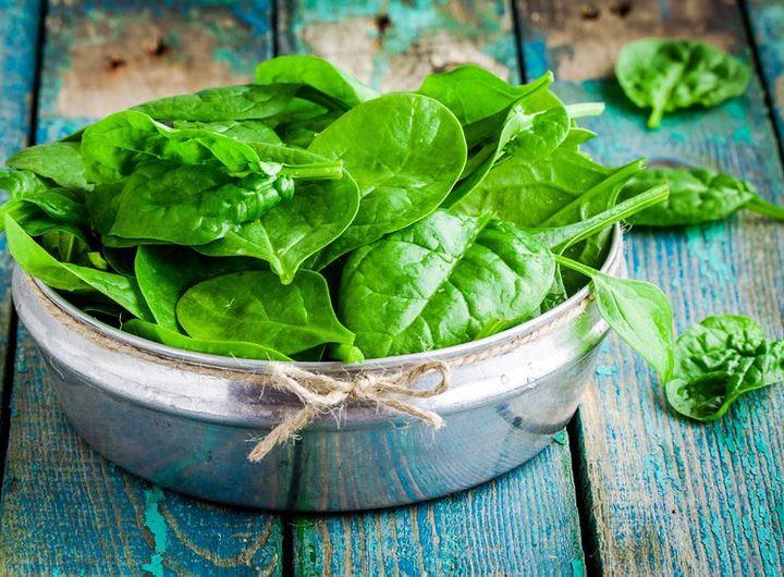 Green leafy veggies - Iron