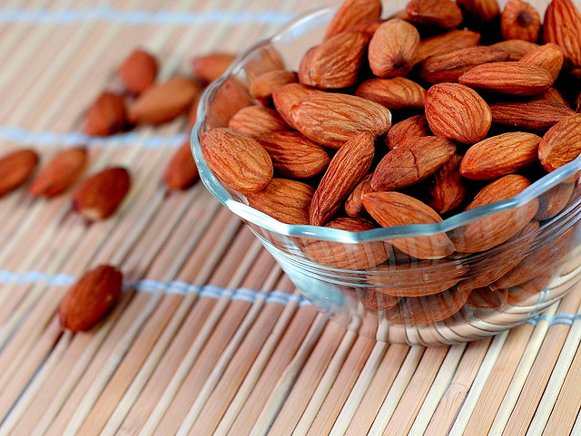 Almond - omega 3 fatty acid