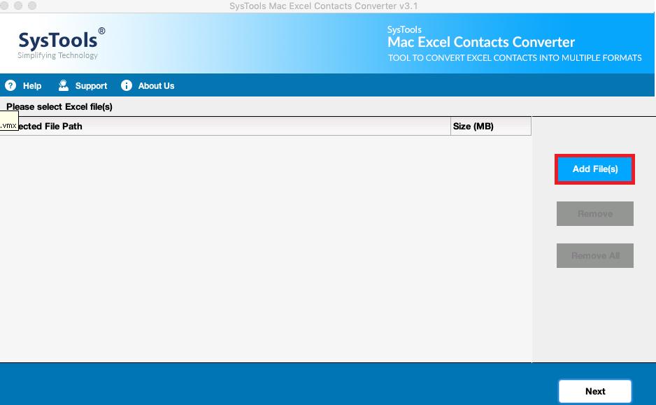 run Mac Excel Contacts Converter