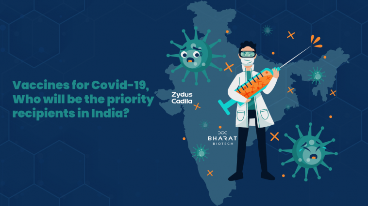 Vaccines for Covid-19, Who will be the priority recipients in India?