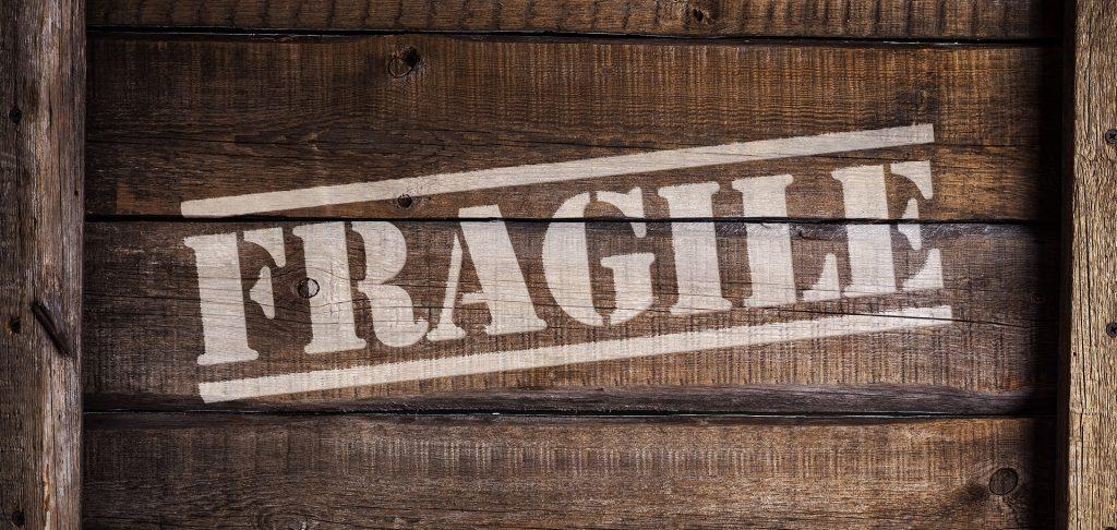 Fragile box.